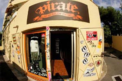Pirate surf shop