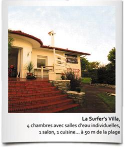 Surfer's villa