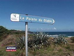 La Pointe du Diable à  Saint Pierre