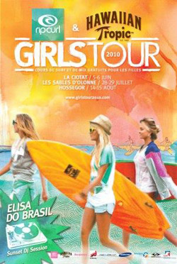 Le Rip Curl & Hawaiian Tropic Girls Tour