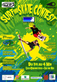 Surf and skate contest 2008