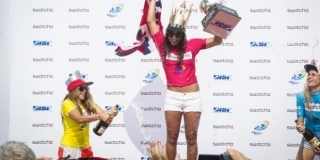 Le podium - Swatch Girls Pro China 2013 - Wanning, Hainan