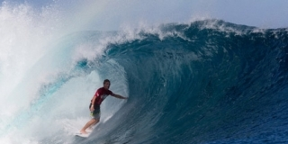 Barrel - Cloudbreak - Volcom Pro Fidji