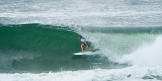 Barrel - Kirra Point - Roxy Pro Gold Coast 2013