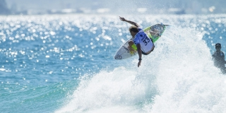 Bede Durbidge - Quik Pro Gold Coast 2015 - Snappers Rocks