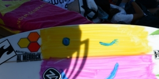 Board heureuse ! Swatch Girls Pro 2013 - Le Penon, Seignosse - Hossegor