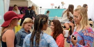 Ca papote ! Swatch Girls Pro 2013 - Le Penon, Seignosse - Hossegor