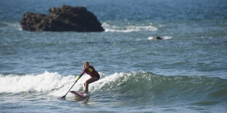 Caroline Angibaud championne de France de Stand Up Paddle 2015
