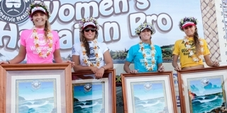 Cholo's Hawaiian Pro 2010 : Le podium