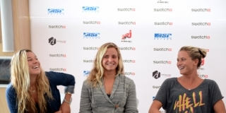 Conférence de Presse du Swatch Girls Pro France 2013