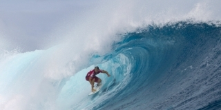 Damien Hobgood - Cloudbreak - Volcom Pro Fidji 2012