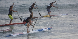 Eric Terrien - World Series de Stand Up Paddle Hawaii