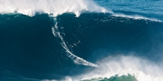 Garrett McNamara, Praia do Norte, Portugal - 2012 Billabong XXL Biggest Wave Champion