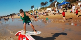 Harry West, Frankston Skim Series competition