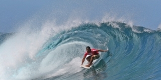 Heiarii Williams - VZ Trials 2012 -  Teahupoo, Tahiti