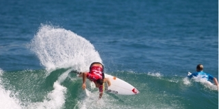 Jeremy Flores - Billabong Pro Rio 2012 - Journée 1