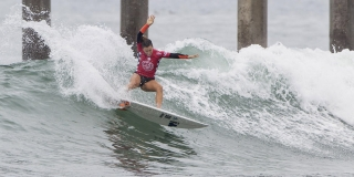 Johanne Defay - US Open Of Surfing 2015 - Huntington Beach