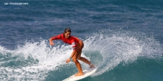 Kim Veteau - Pan American Surfing Games 2011