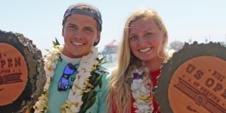 Lakey et Julian - Nike US Open Of Surfing 2012