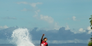 Marlon - Lance right - Rip Curl Mentawaii Pro 2013