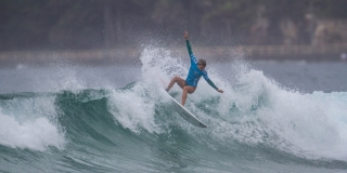 Maud le Car - Hurley Australian Open of Surfing 2014 - Manly, Australie