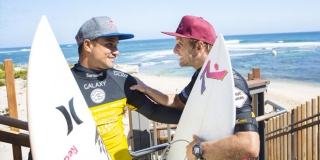 Michel Bourez et Josh Kerr - Drug Aware Margaret River Pro 2014 - Australie