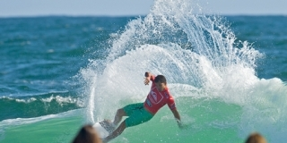 Michel Bourez - Quiksilver Pro Gold Coast 2012