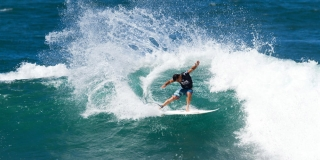 Michel Bourez  - Reef Hawaiian Pro 2014 - Haleiwa, Hawaii