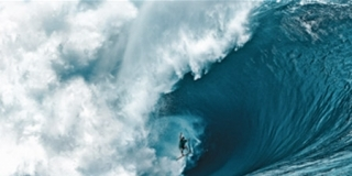 Nathan Fletcher, Teahupoo, Tahiti - 2012 Billabong XXL Ride of The Year Champion