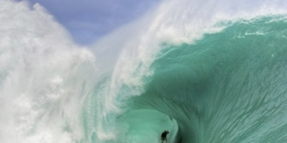 Nathan Fletcher, Teahupoo, Tahiti - 2012 Monster Tube Champion