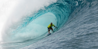 Nathan Hedge - Air Tahiti Nui Billabong Pro Trials 2014 - Teahupoo