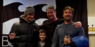 Podium du Tow-in Surf Session
