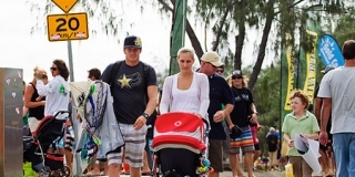 Quiksilver pro Gold Coast 2011 : La famille Durbidge