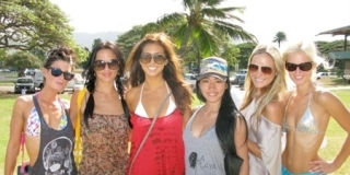 Reef Hawaiian Pro 2010 : Les Reef Girls