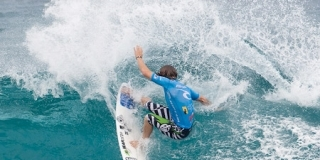 Rip Curl Pro Search 2010 - Somewhere in Puerto Rico - Chris Davidson - © Kirstin/ASP