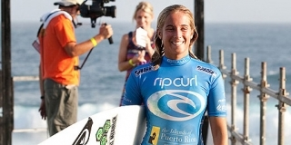 Rip Curl Pro Search 2010 - Somewhere in Puerto Rico - Lee Ann Curren - © Kirstin/ASP