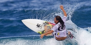 Rip Curl Pro Search 2010 - Somewhere in Puerto Rico - Melanie Bartels - © Kirstin/ASP