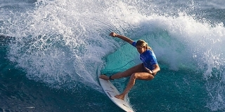 Rip Curl Pro Search 2010 - Somewhere in Puerto Rico - Rosie Hodge - © Kirstin/ASP