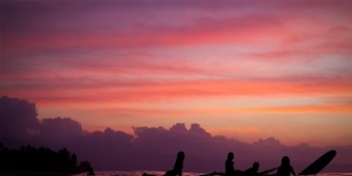 Sunset - Reef Hawaiian Pro 2013