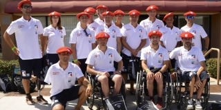 Team France - Mondiaux Handi Surf - San Diego