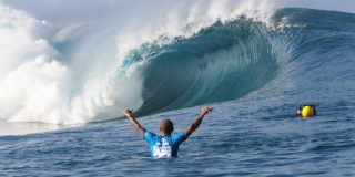 Vague parfaite - Billabong Pro Tahiti - Teahupoo