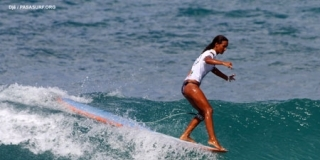 Vanessa Perina - Pan American Surfing Games 2011