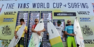 Podium - Vans World Cup of Surfing 2012