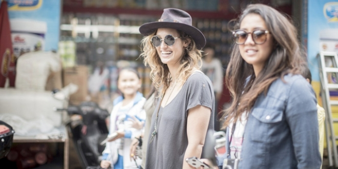 Kassia Meador et Kelia Moniz - Swatch Girls Pro China 2013 - Wanning, Hainan