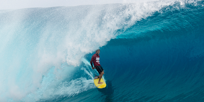 Alain Riou - Air Tahiti Nui Billabong Pro Trials 2014 - Teahupoo