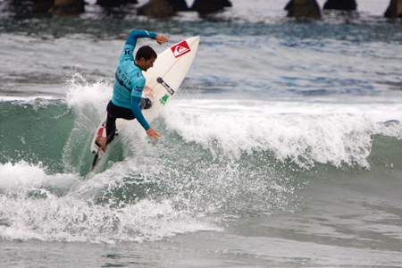 Alain Riou - Nike US Open of Surfing 2012