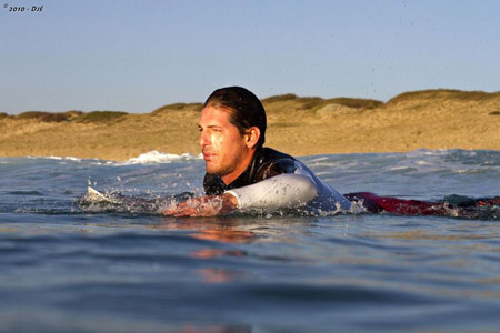 Andy Irons - Free Surf - Quik Pro France 2010'