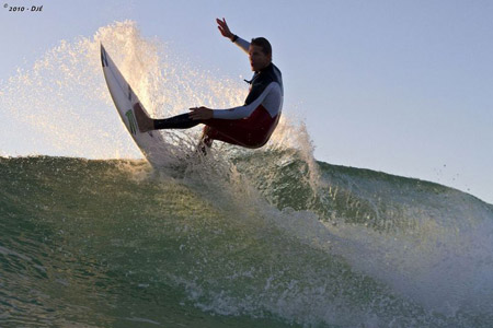 Andy Irons - Free Surf - Quik Pro France 2010