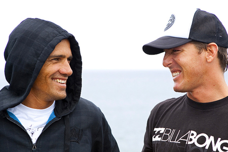 Andy Irons et Kelly Slater