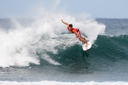 Aritz Aramburu - Reef Hawaiian Pro 2012 - Haleiwa, North Shore, Hawaii
